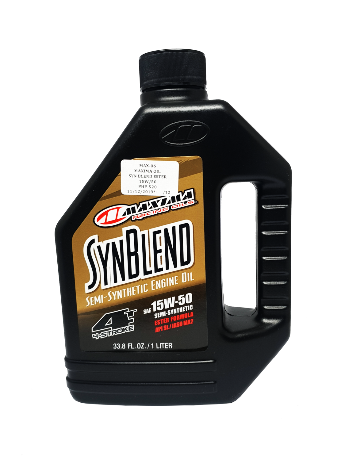 MAXIMA OIL SYNTHETIC BLEND ESTER 15W