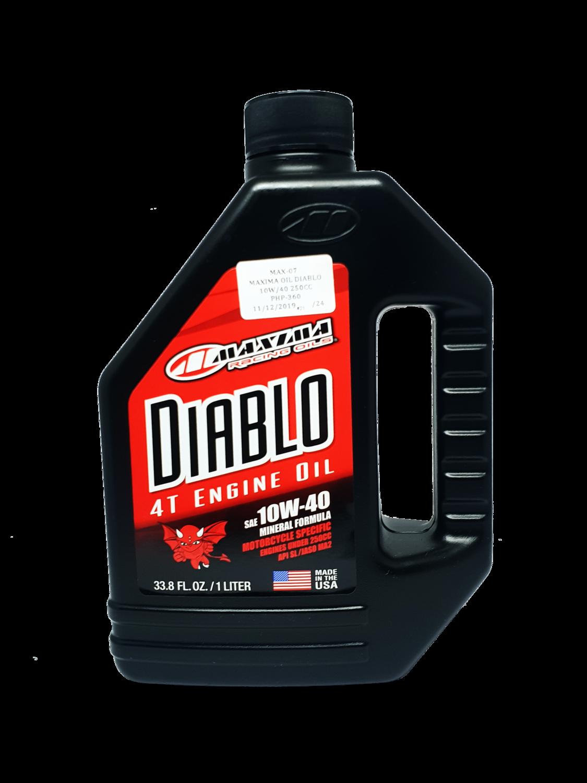 MAXIMA DIABLO OIL MINERAL FORMULA 10W/40 1 LITER
