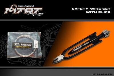 SAFETY WIRE WITH TWISTING PLIERS SET TSR