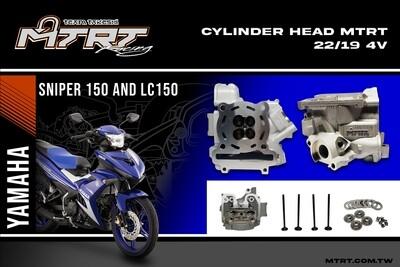 CYLINDER HEAD SNIPER150_MXKING 150 19/22MM MTRT