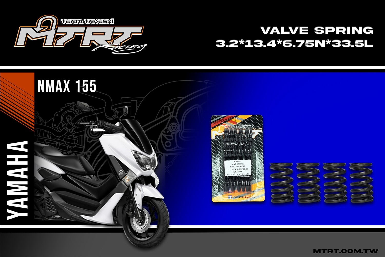 VALVE SPRING NMAX155 MTRT 3.2x13.4x6.75Nx33.5L