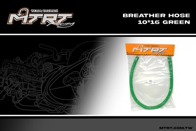BREATHER HOSE GREEN 10MM MTRT
