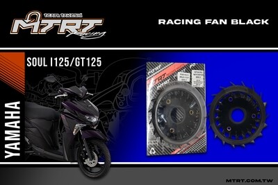 RACING FAN BLACK