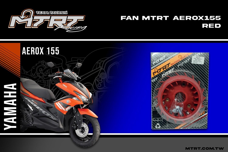 FAN AEROX155 RED MTRT