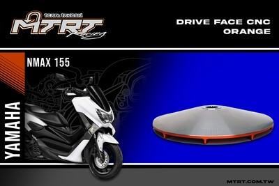 DRIVE FACE CNC NMAX155 MTRT ORANGE