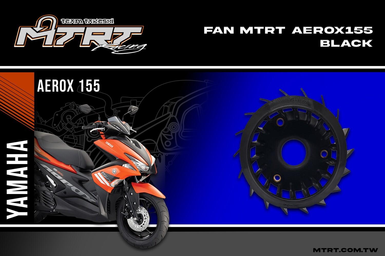 FAN AEROX155 NMAX155  BLACK MTRT