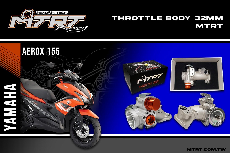 THROTTLE BODY AEROX155/NVX 32MM  w/o TPS MTRT