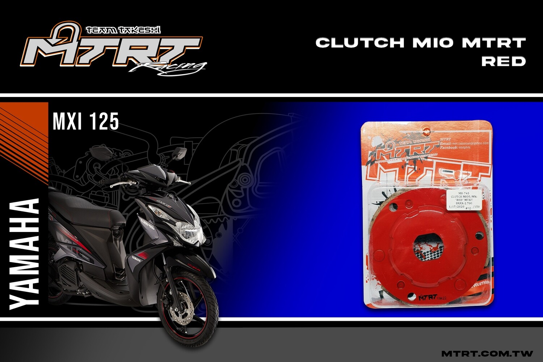 CLUTCH MIO5 MXi RED MTRT