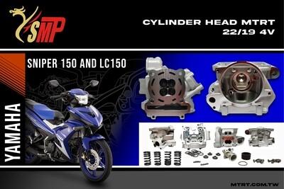CYLINDER HEAD SNIPER150 22/25MM YSMP