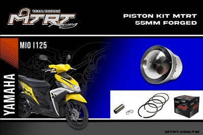 PISTON  KIT  MIOi125  55MM FORGED pin13  MTRT