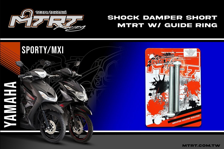 """SHOCK DAMPER w/guide ring SPORTY/MXI """"SHORT"""" MTRT"""