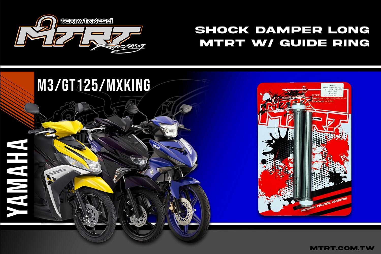 "SHOCK DAMPER w/guide ring GT/M3/MxKING ""LONG"" MTRT"