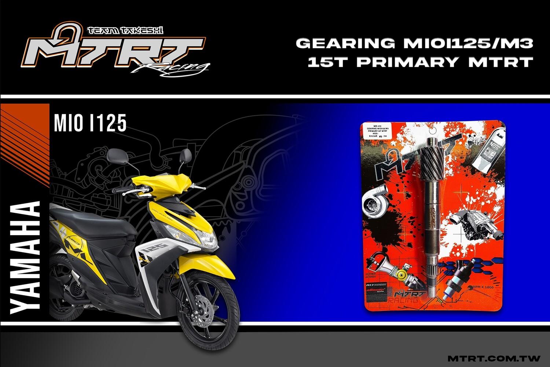 MTRT PRIMARY GEARING MIOi125-M3 15T
