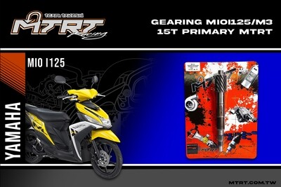 MTRT PRIMARY GEARING MIOi125-M3 15T