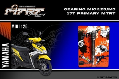 MTRT PRIMARY GEARING MIOi125-M3 17T