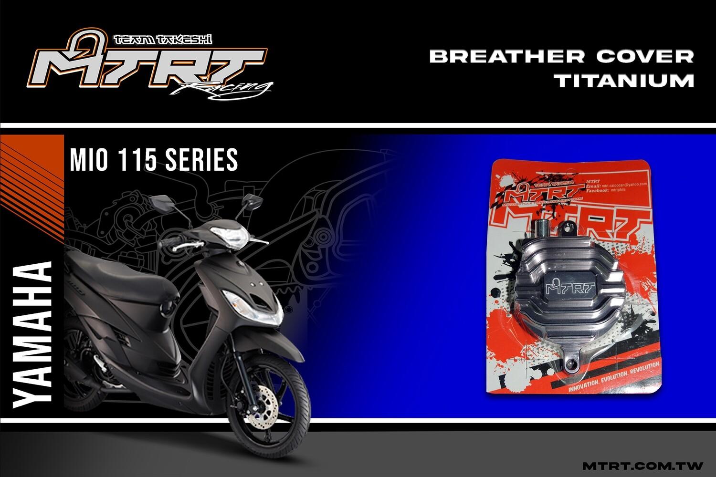 BREATHER COVER MIO (Titanium)