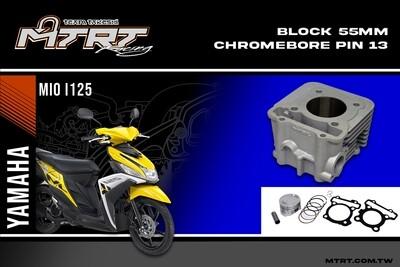 BLOCK 55mm Chromebore pin13 Mioi125/M3