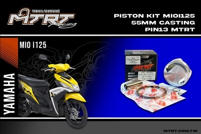 PISTON KIT MIOi125 55MM CASTING MTRT