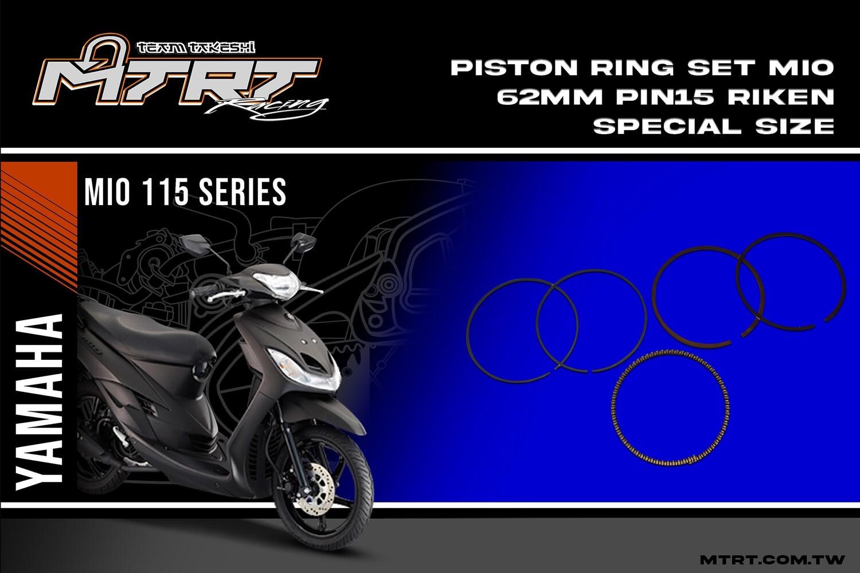 PISTON RING SET 62MM