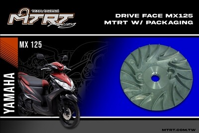 DRIVE FACE  MX125 / MIO5  MTRT packaging