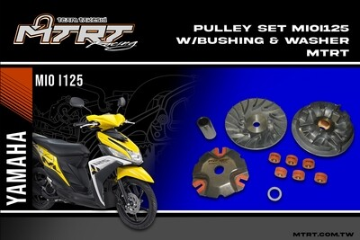 PULLEY SET MIOi125 bushing & washer MTRT
