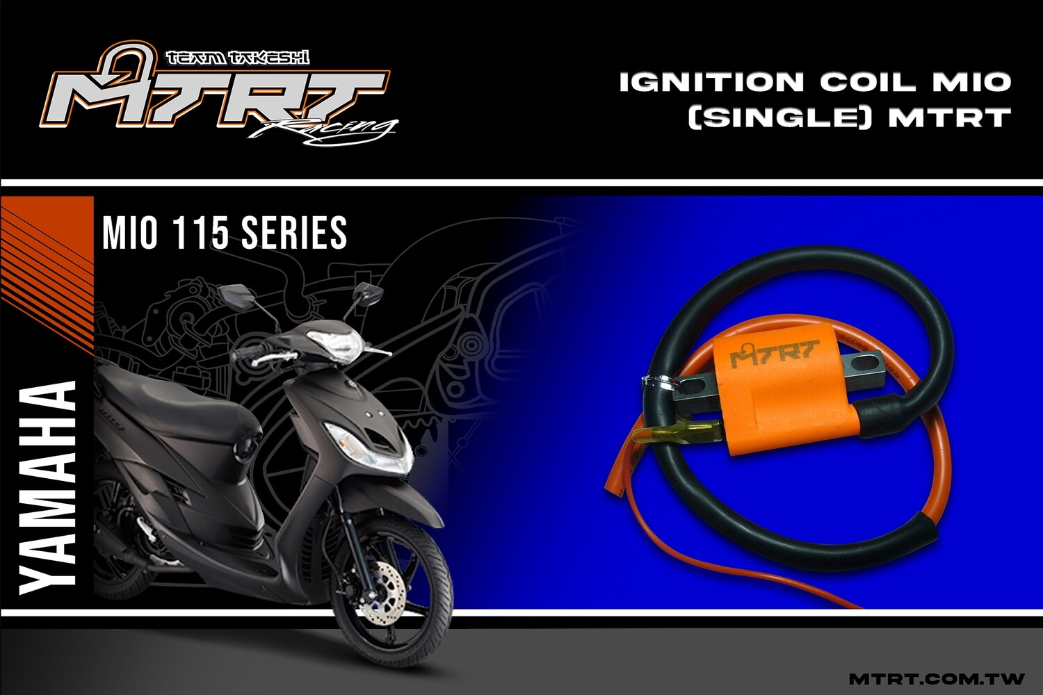 IGNITION COIL MIO (single) MTRT