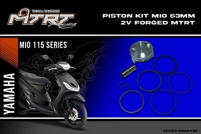 PISTON  KIT  MIO 63MM 2V Forged MTRT