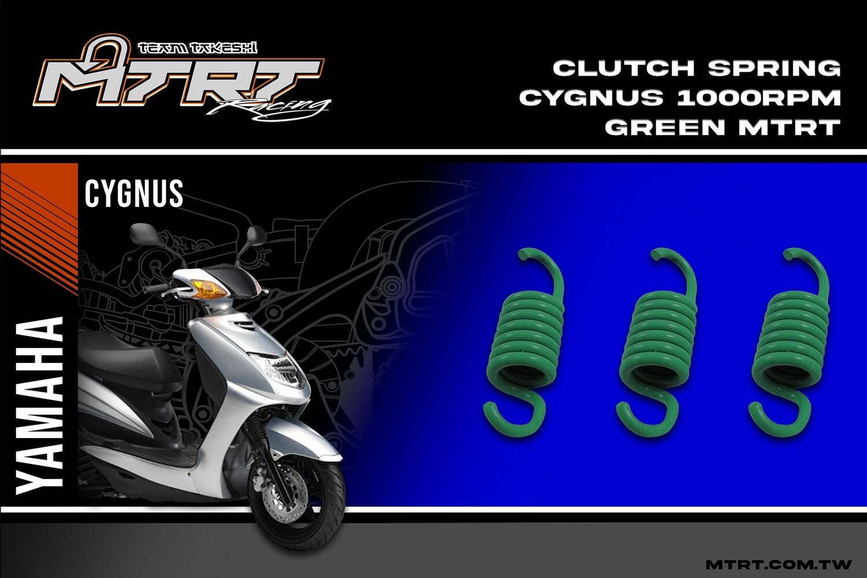 CLUTCH SPRING Cygnus/mio5/MXi/nouvo  1000RPM Green
