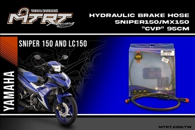 HYDRAULIC BRAKE HOSE SNIPER150 MX150  CVP 95CM