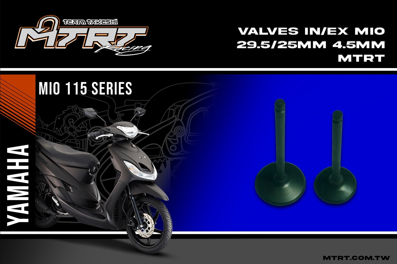 VALVES IN/EX MIO 29.5/25mm4.5mmMTRT