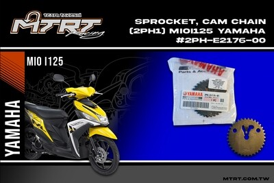 SPROCKET, CAM CHAIN (2PH1) MIOi125MIO SOULi125 YAMAHA #2PH-E2176-00