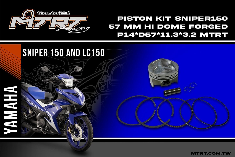 FORGED PISTON 57MM SNIPER150-FI MTRT