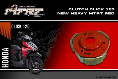 CLUTCH Clicki125 Heavy MTRT RED Arrive 6716