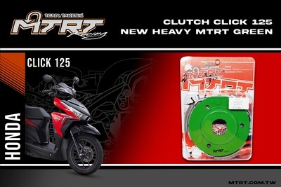 CLUTCH CLICK HEAVY GREEN MTRT
