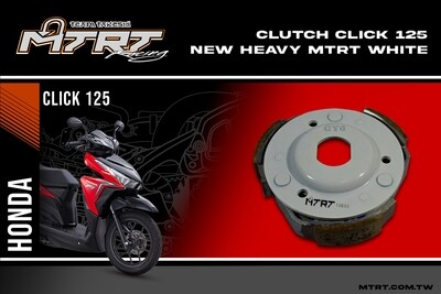 CLUTCH Clicki125 Heavy MTRT White