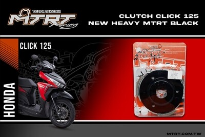 CLUTCH CLICK HEAVY BLACK MTRT