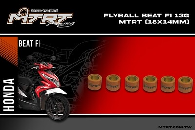 FLYBALL ZoomerGY6SharkBeatFi  13g MTRT (18x14mm)