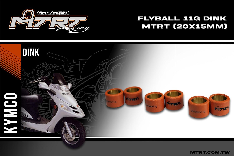 FLYBALL  MTRT  Click125DinkStepRV  11G (20x15mm)