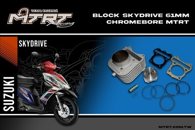 BLOCK 61MM Chromebore SKYDRIVE