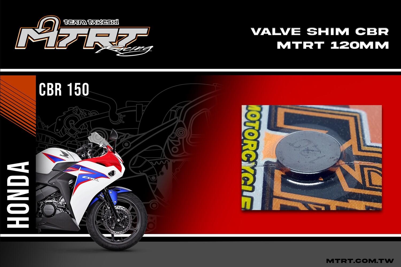 VALVE SHIM RAIDER150/CBR MTRT 120mm