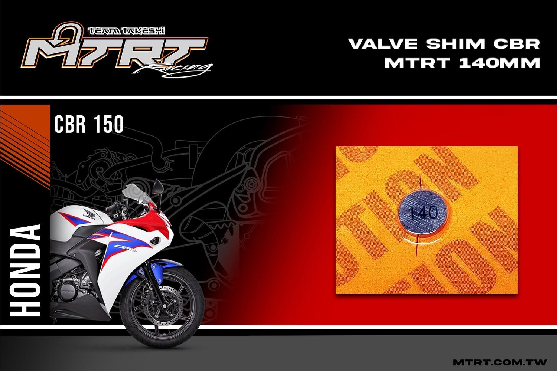 VALVE SHIM RAIDER150/CBR MTRT 140mm