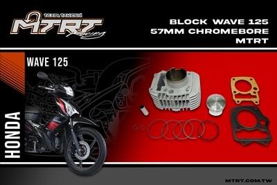 BLOCK Wave125  57MM Chromebore   MTRT