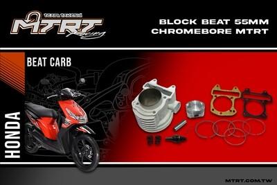 BLOCK BEAT 55MM Chromebore
