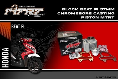 BLOCK BEAT Fi 57MM Chromebore with forged piston MTRT