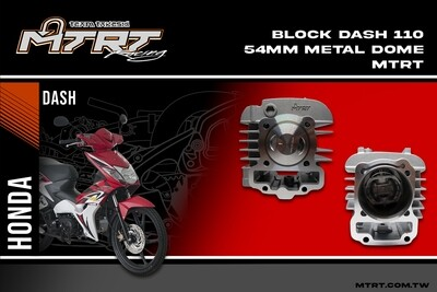 54MM CYLINDER BLOCK  METAL WITH DOME PISTON DASH110