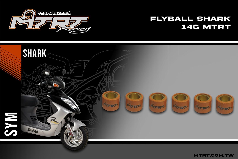 FLYBALL ZoomerGY6SharkBeatFi  14g MTRT