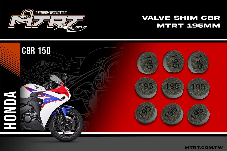 VALVE SHIM RAIDER150CBR MTRT 195mm M-Op1