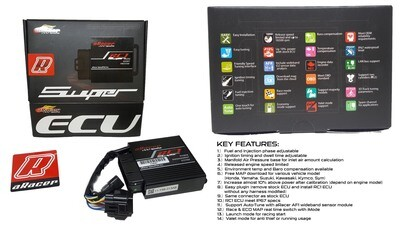 (SUO5018) ARACER SPEEDTEK ECU RC1 SUPER PROGRAMMABLE (Honda CBR250)