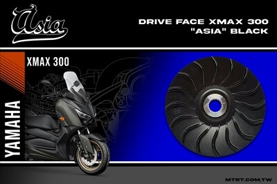 DRIVE FACE  XMAX300 ASIA BLACK