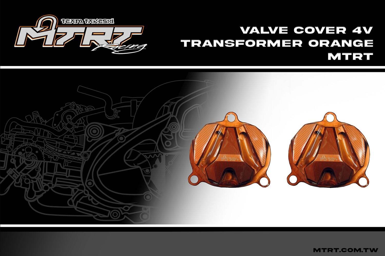VALVE COVER 4V Transformer  ORANGE MTRT